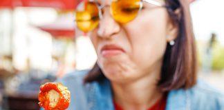 Utrata smaku( podrażnienie)