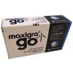 Maxigra Go - zamiennik - ulotka - producent - premium
