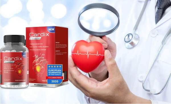 Cardix Forte - jak stosować - dawkowanie - skład - co to jest